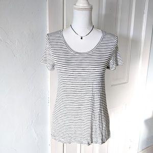 Madewell  Women's Small Striped T-shirt Minimalist